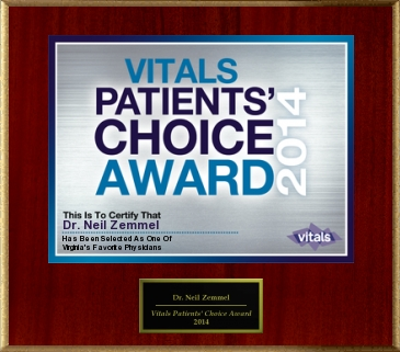 2014 Vitals Patient's Choice Award