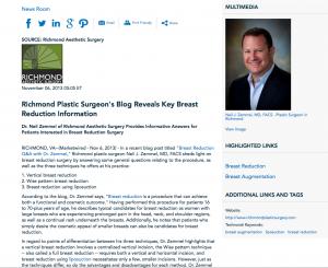breast reduction, liposuction, breast augmentation